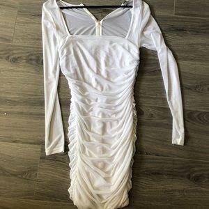 Fashion nova mini white dress